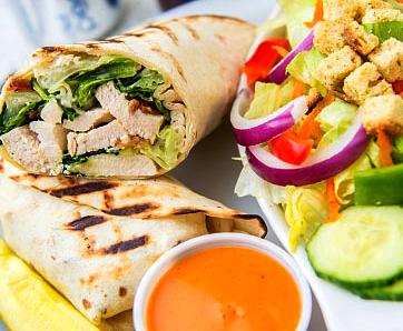 Hearty Wraps